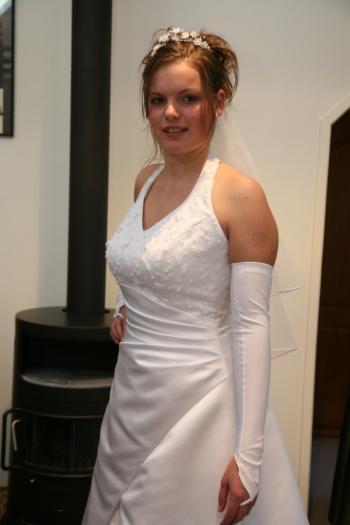 Bruidskleding op maat gemaakt